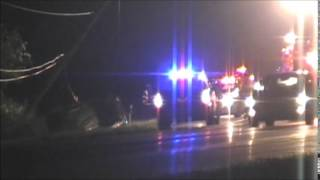 Car roll over 104 and Townline rd 8/24/14