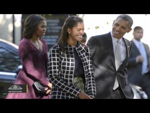 President Obama Goes On Hike With Sasha While Malia Takes Birthday Trip To Disneyland - TOI