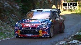 Essais Citroën DS3 WRC – Rallye Monte Carlo 2013 [HD]