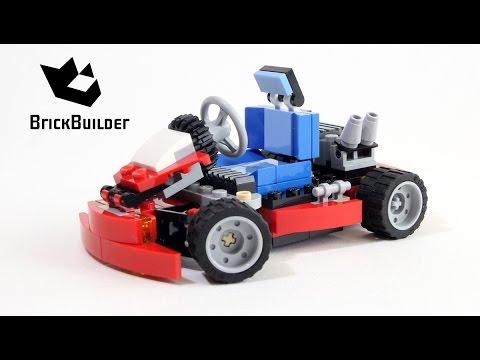 Lego Creator 31030 Red Go-Kart - Lego Speed Build