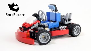 Lego Creator 31030 Red Go-Kart - Lego Speed Build