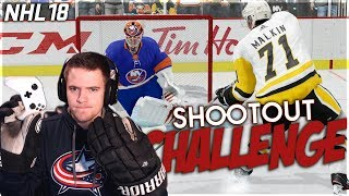 NHL 18 SHOOTOUT CHALLENGE #8 *HOCKEY GLOVE EDITION*