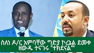 Amhara TV Interview With Colonel Demeke Zewdu
