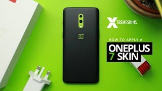How to apply a OnePlus 7 skin | XtremeSkins