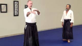 Dan Messisco Sensei at Two Rivers Budo, 6/27/12