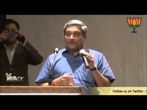 Manohar Parrikar on Why BJP ? & Family Planning !