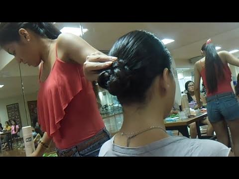 Peinado de marinera