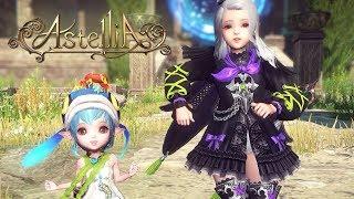 Astellia Online Loli Sorcerer Gameplay and Dancing Emotes