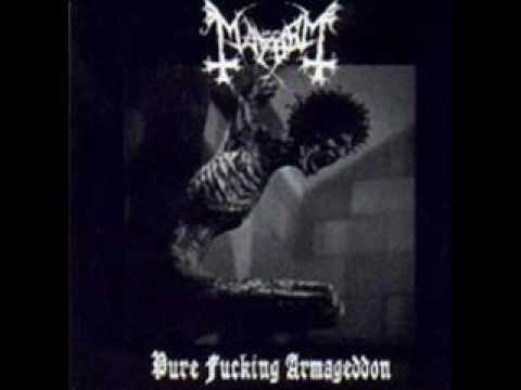 Mayhem - Black Metal (Venom Cover)