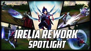 Irelia Rework Spotlight Season 8