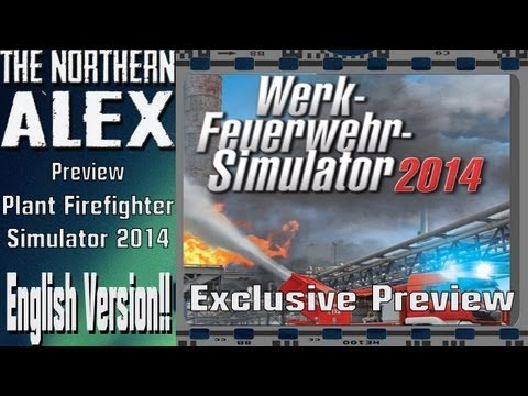 Industrial Firefighter Simulator 2014 Exclusive Preview