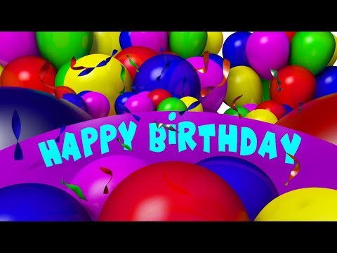 Happy Birthday Song | Funny Songs For Kids | Baby Nursery Rhymes For Childrens kids tv