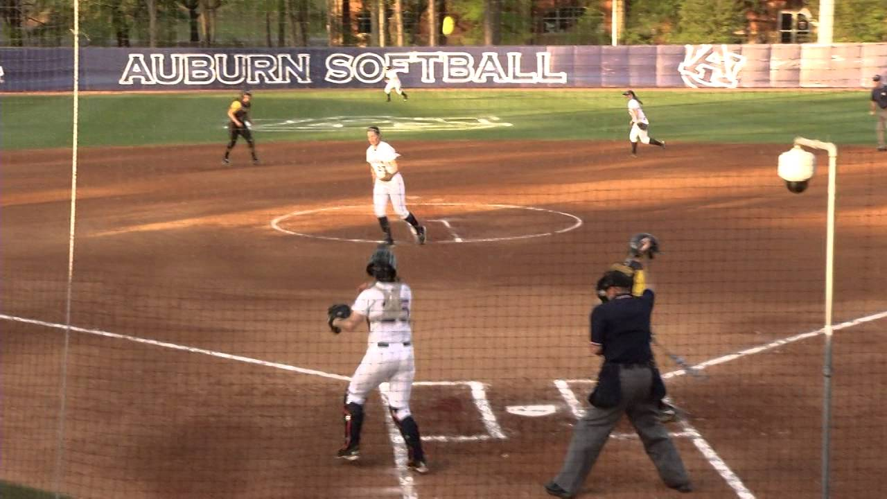 Missouri at Auburn Softball