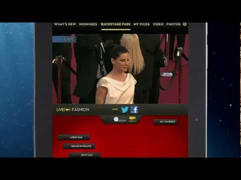 Backstage Pass – Download the Oscars® App
