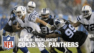 Colts Vs Panthers Week 8 Highlights Nfl