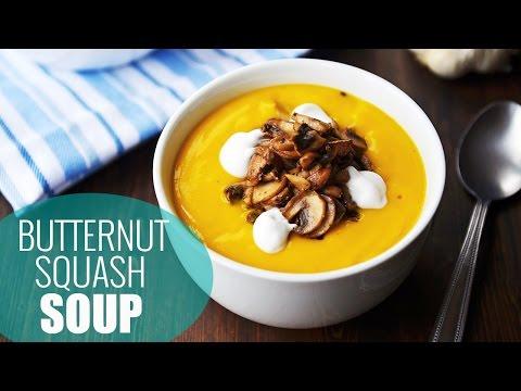 Best Butternut Squash Soup Recipe | Vegan Soup Recipes