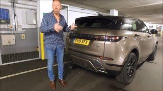 New Range Rover Evoque: 2019 Range Rover Evoque Review