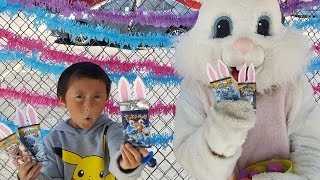 We BATTLE The EASTER BUNNY! HUNT For LEGENDARY BOOSTER BUNNIES! BEST POKEMON DAY EVER! HAPPY EASTER!