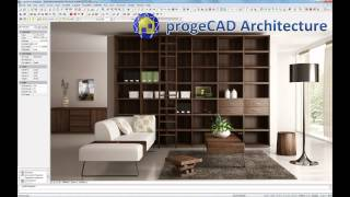 New progeCAD Architecture 2014