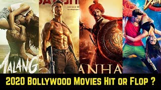 2020 Bollywood Hit And Flop Movies List January to March With Box Office Collection