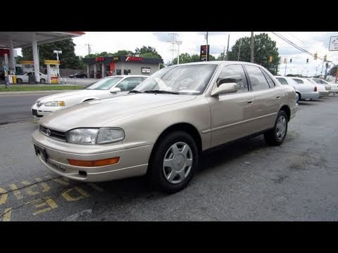 1993 Toyota Camry Le V6 Start Up Engine And In Depth