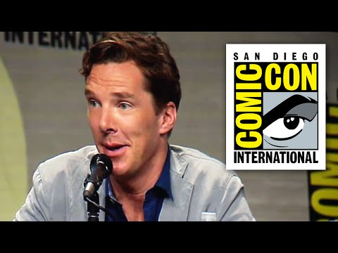 Benedict Cumberbatch Talks Sherlock Series 4 and Doctor Strange  Comic Con 2014
