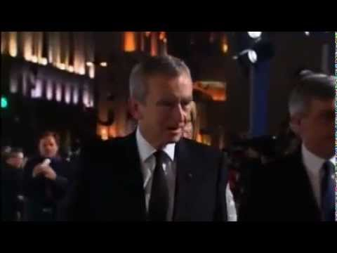 Bernard Arnault au défilé Haute Couture Dior à Shanghai --  Le 14.05.10