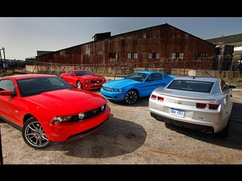 Camaro on 2011 Ford Mustang Vs 2010 Chevrolet Camaro Car And Driver