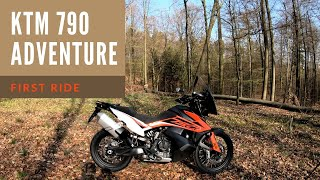 2019 KTM 790 Adventure | First Ride | Review | EN/DE Subs