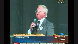 National Anthem (2 verses) Sung by Tea Party Hero at Herman Cain Announcement