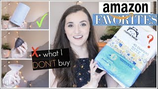 MY AMAZON FAVORITES + Things I DON'T buy on Amazon! | AMAZON PRIME DAY | Natalie Bennett