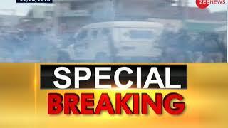 Breaking News: Stone pelters target security forces in J&K's Shopian