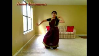 Jaati Adavu in Bharatanatyam (Part 3)