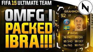 OMFG!!! - I PACKED 2IF IBRAHIMOVIC!! - FIFA 15 Ultimate Team