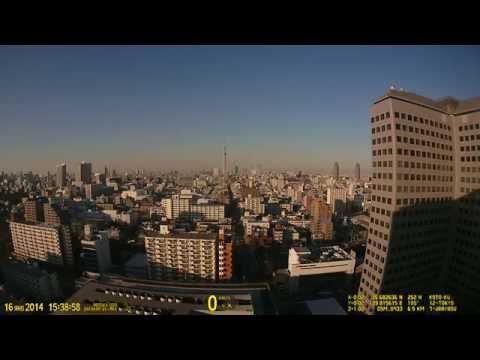 Вечерний Токио. Таймлапс | Видеорегистратор DATAKAM G5