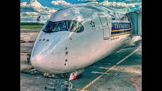 Singapore Airlines BUSINESS CLASS | Airbus A350 | ARN-DME-SIN