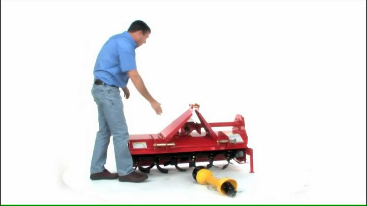 Tiller Tractor Tractor Rotary Tiller