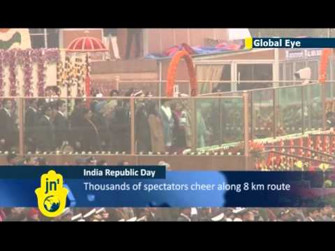 India celebrates 65th Republic Day: Japanese PM guest of honour for military parade in New Delhi