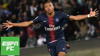 Kylian Mbappe fuels PSG with 4 goals, Neymar also scores in win vs. Lyon   Ligue 1 Highlights