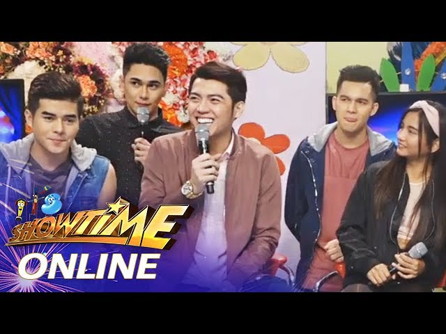 It's Showtime Online: Aerone Mendoza as a model