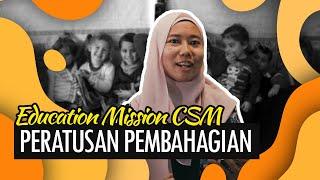 MediaCSM : Peratusan Pembahagian - Education Mission CSM