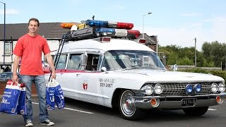 Real Life Ghostbusters Car