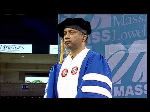 Doctor of Humane Letters Award - Harish Hande - UMass Lowell 2013 Graduate Commencement (2:41)