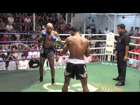 Cyrus Washington vs Johmhod - Pro Muay Thai Fight Image 1