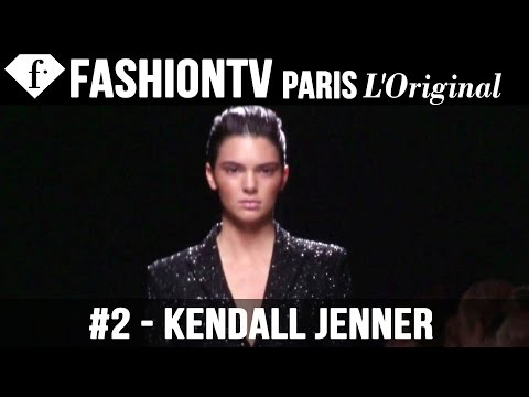Balmain Spring 2015 ft Rosie Huntington Whiteley, Kendall Jenner | Paris Fashion Week | FashionTV