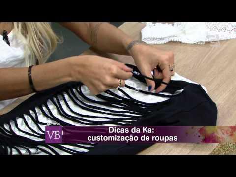 Você Bonita - Manual da Beleza: Customização de roupas (04/08/15)