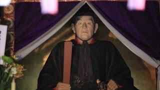 伊達政宗が眠る瑞鳳殿で新年礼拝式