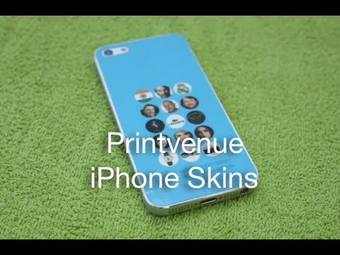 Printvenue iPhone Skins - YouTube