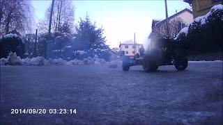 RC fails and drifts in the winter