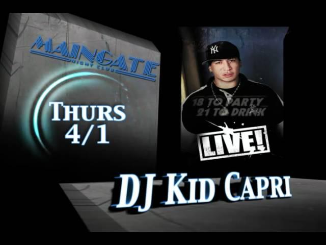 DJ Kid Capri Bangout Motion Graphic Slates